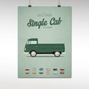 split screen single cab pickup koenmeloen