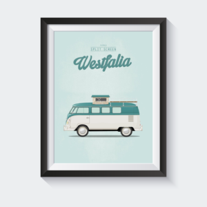 Split screen westfalia