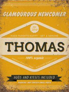 Naambord-Thomas-geel-roest-koenmeloen