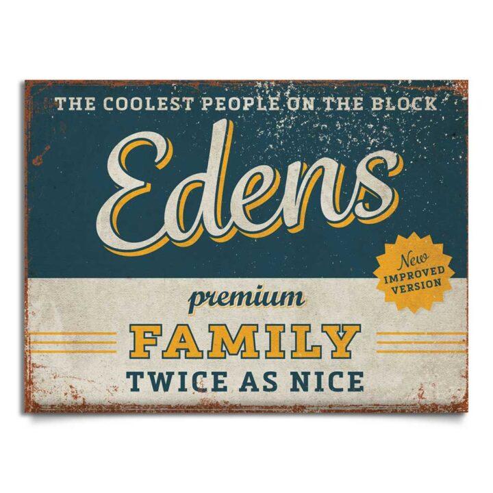 naambord-Edens-blauw-geel koenmeloen