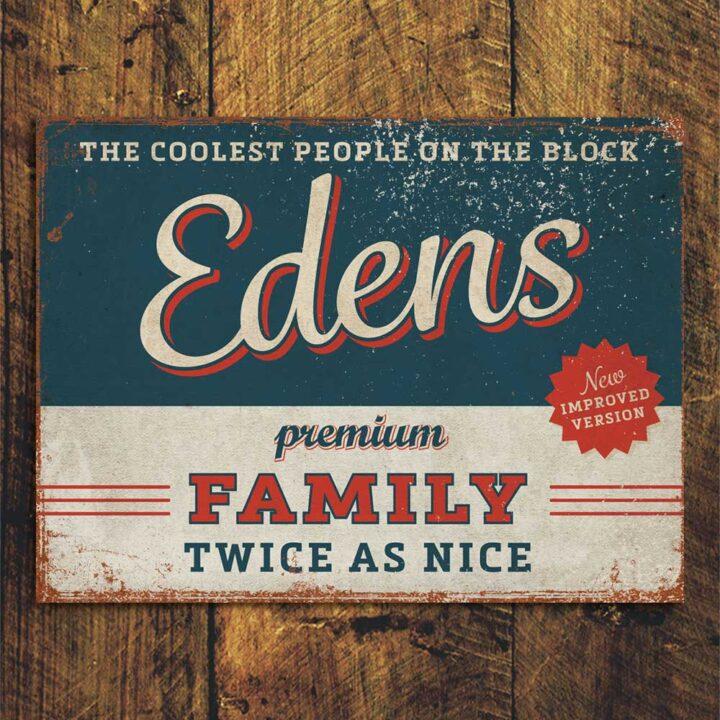naambord-Edens-blauw-rood van koenmeloen