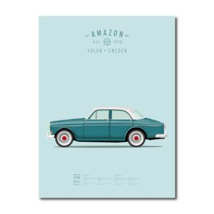 koenmeloen-ode-to-classic-carsvolvo amazon