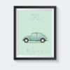 koenmeloen-classic-car-illustration vw kever