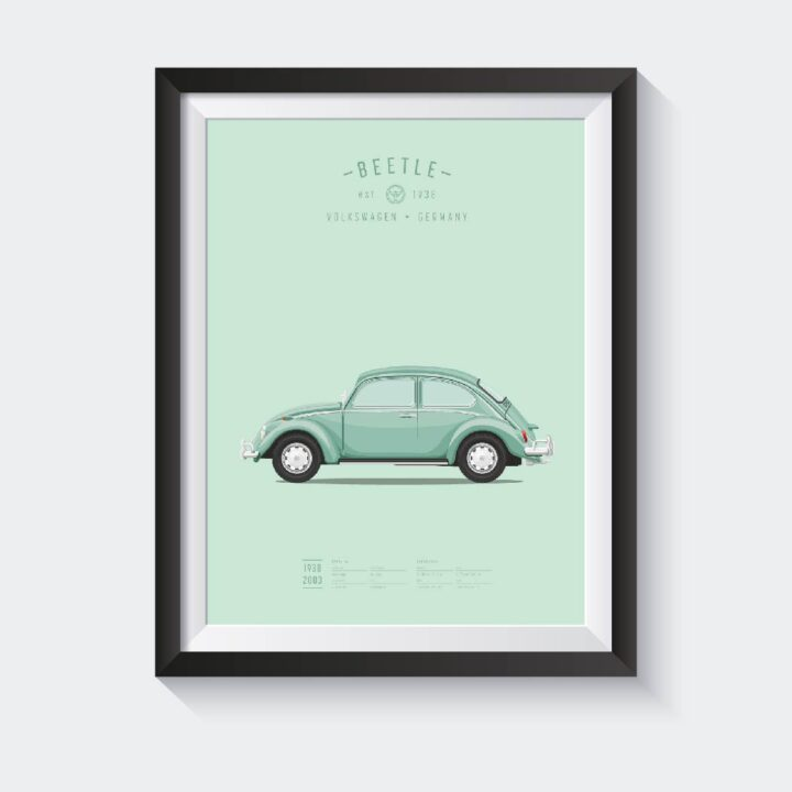 koenmeloen-classic-car-illustration vw kever