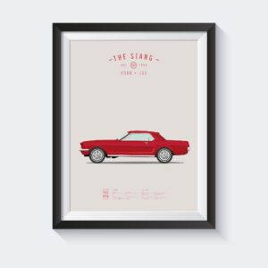 koenmeloen-classic-car-illustration-mustang