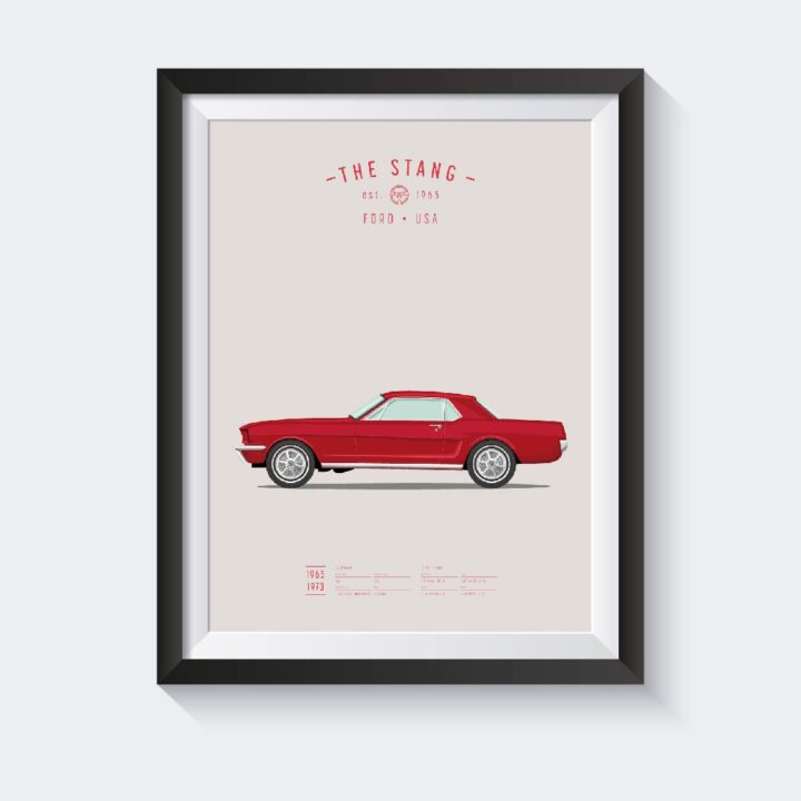 koenmeloen-classic-car-illustration-mustang