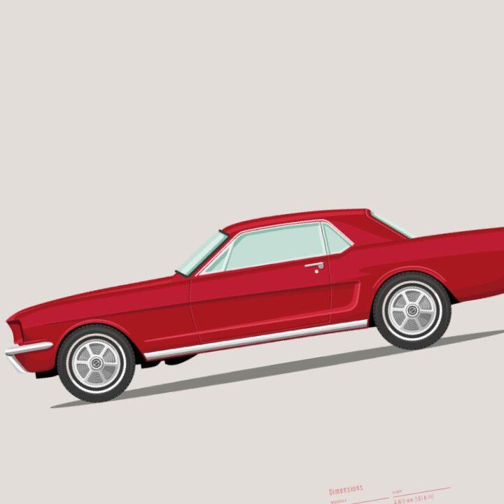 koenmeloen-ode-to-classic-cars-detail mustang