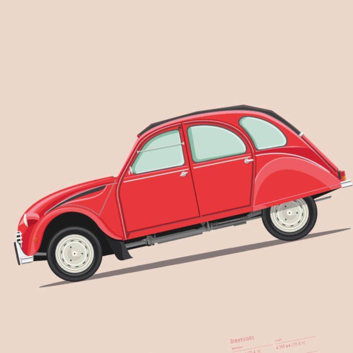 koenmeloen-ode-to-classic-cars-detail citroen 2cv