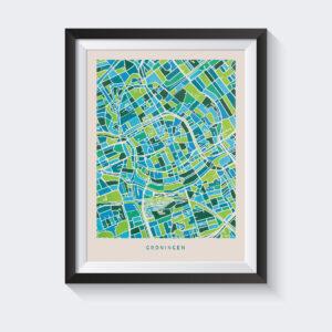 poster-groningen-mockup-koenmeloen-groen-blauw