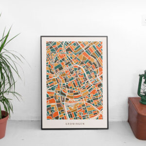poster-plattegrond-Groningen-mockup-koenmeloen