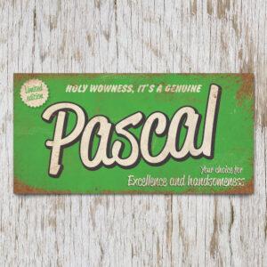 Naambord Kinderkamer Pascal Groen