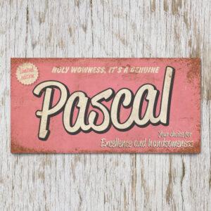 Naambord Kinderkamer Pascal Roze