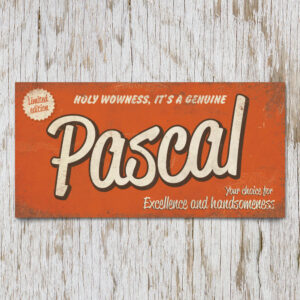 Naambord Kinderkamer Pascal Oranje