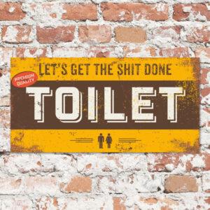 Bord-toilet-geel-bruin-koenmeloen-naamborden
