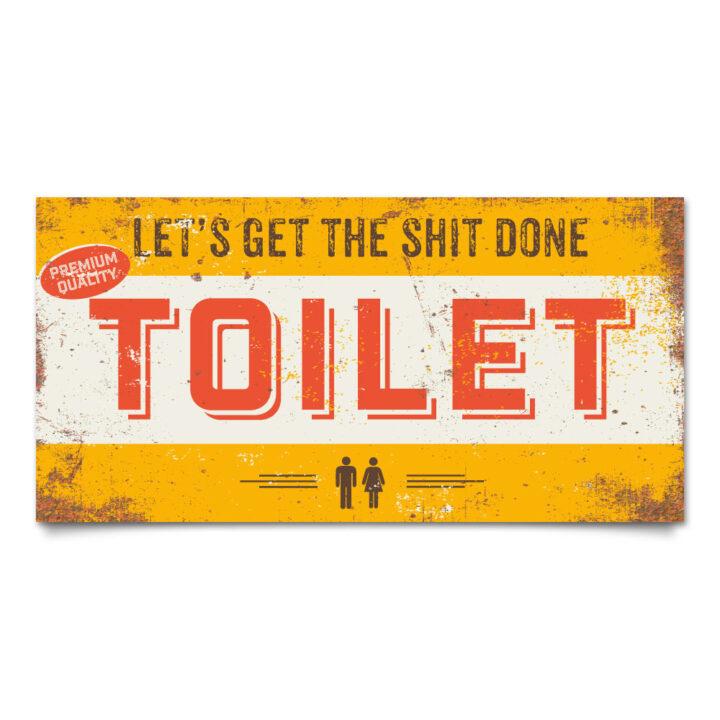 Bord-toilet-geel-rood-koenmeloen-naamborden