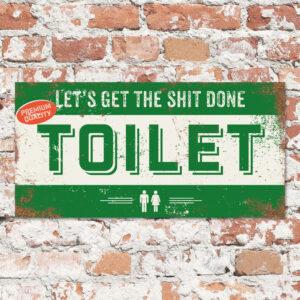 Bord-toilet-groen-koenmeloen-naamborden