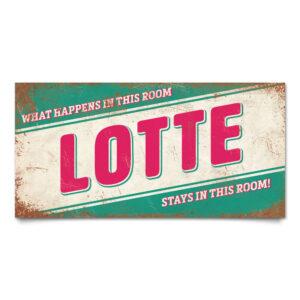 Naambord-Lotte-mint-roze-wit-koenmeloen