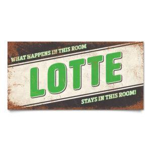 Naambord-Lotte-zwart-groen-wit-koenmeloen