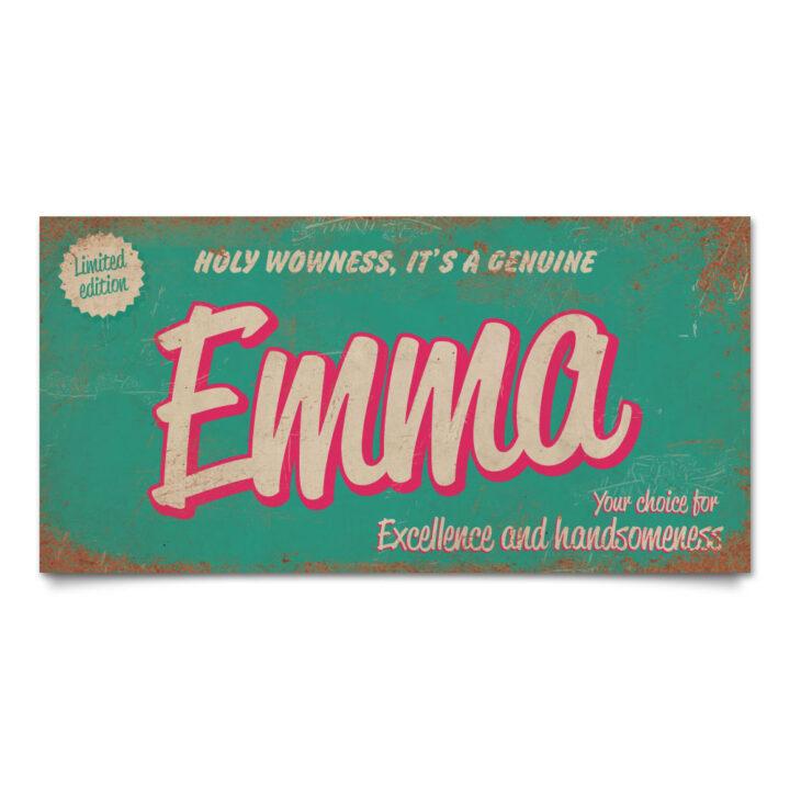 Naambord-Pascal-Emma-mint-koenmeloen-naamborden