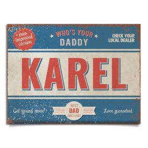 mijke-blauw-rood-wit-vaderdag-karel-koenmeloen-naambord