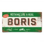 naambord-boris-groen-bruin-motor-koenmeloen-naamborden