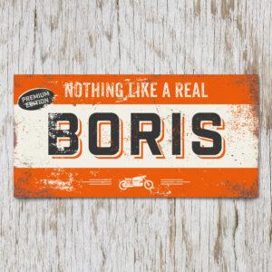 naambord-boris-oranje-zwart-motor-koenmeloen-naamborden