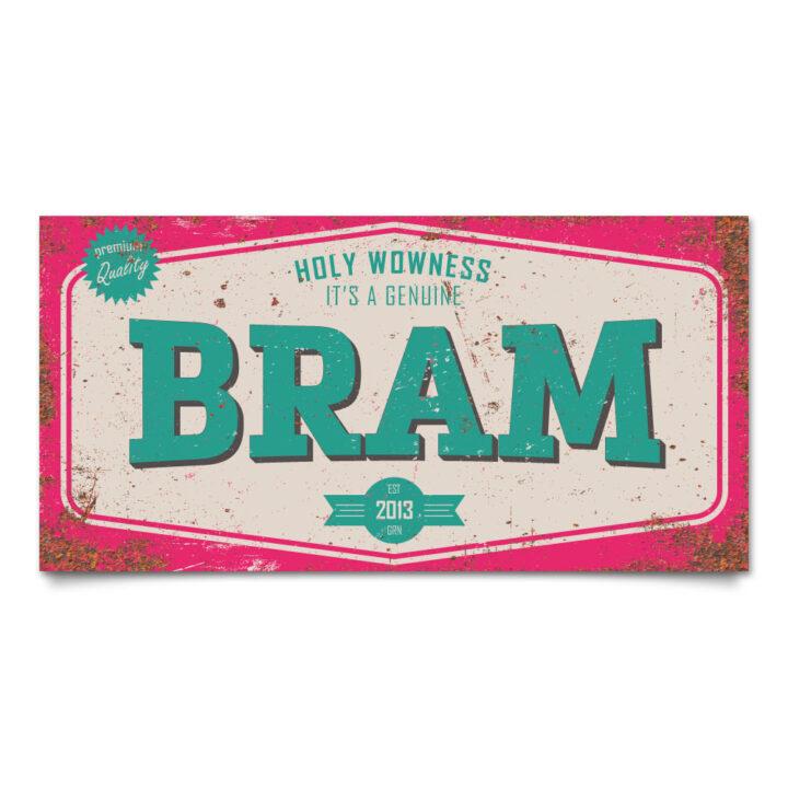 naambord-bram-roze-mint-koenmeloen