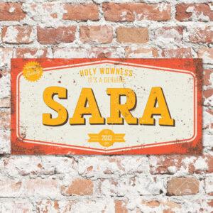 naambord-bram-sara-rood-geel-wit