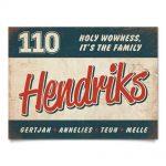 Naambord-Hendriks-voordeur-blauw-rood-wit-koenmeloen