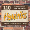 Naambord-Hendriks-voordeur-geel-bruin-wit-koenmeloen