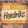 Naambord-Hendriks-voordeur-geel-wit-bruin-koenmeloen