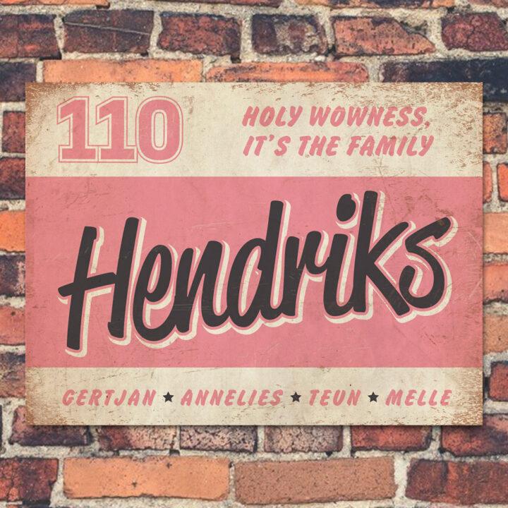 Naambord-Hendriks-voordeur-wit-roze-zwart-koenmeloen