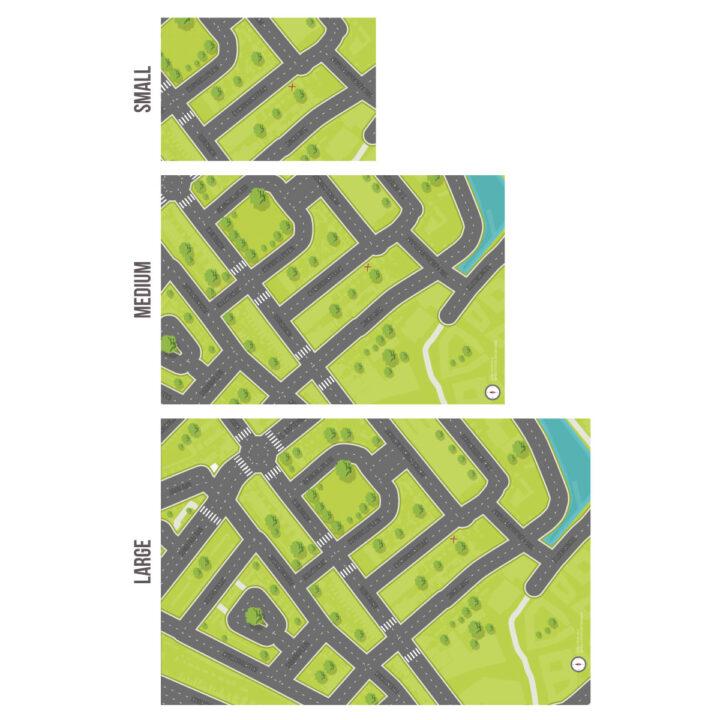 Koenmeloen-Groningen-maten speelmat van je buurt op maat