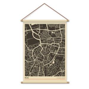 Breda-mockup-textielposter-stadsplattegrond-schoolposter-witte-achtergornd-koenmeloen