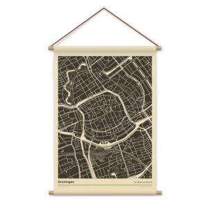 Textielposter-Schoolbord-Groningen-Koenmeloen