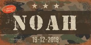 naambord-noah-witte-tekst-leger-army-koenmeloen