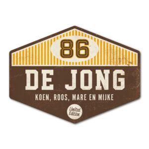 Naambord-de-jong-bruin-wit-geel koenmeloen naambord