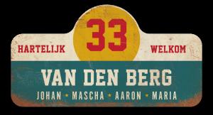 Naambord-van-den-berg-koenmeloen-vintage-retro-voordeur-borden