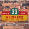 Van-den-Berg-naambord-koenmeloen-geel-rood-blauw-wit-muur rallybord