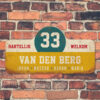 Van-den-Berg-naambord-koenmeloen-geel-wit-blauw-rood rallybord