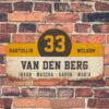 Van-den-Berg-naambord-koenmeloen-wit-geel-zwart-muur rallybord