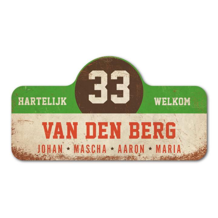 Van-den-Berg-naambord-koenmeloen-wit-groen-bruin-rood rallybord