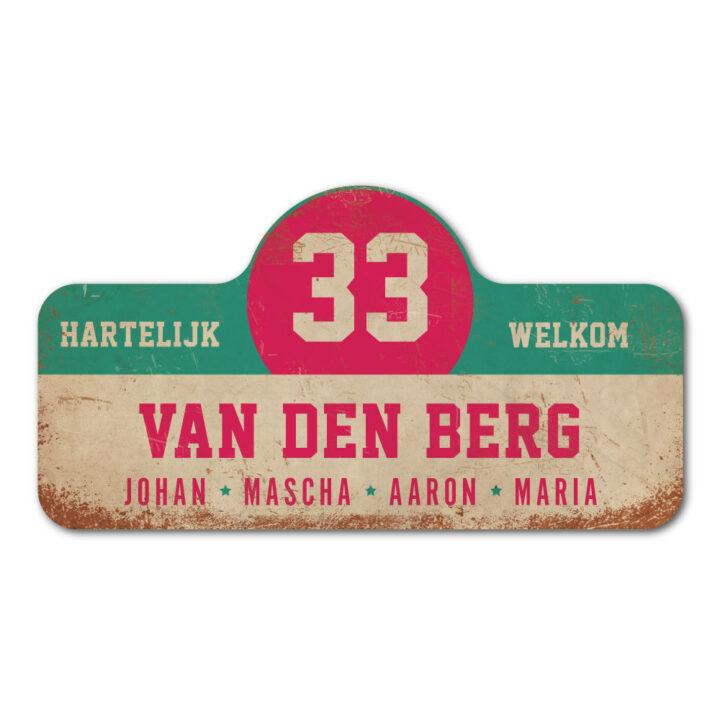 Van-den-Berg-naambord-koenmeloen-wit-mint-roze rallybord