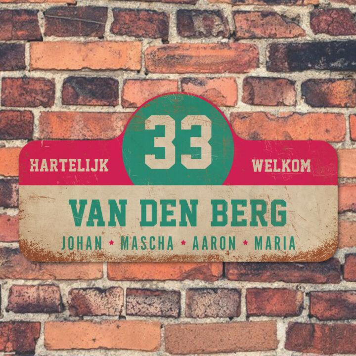 Van-den-Berg-naambord-koenmeloen-wit-roze-mint-muur rallybord
