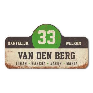 Van-den-Berg-naambord-koenmeloen-wit-zwart-groen rallybord
