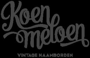 koenmeloen-vintage naamborden