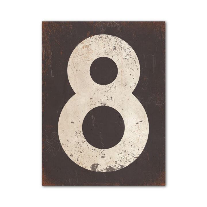 koenmeloen-huisnummer-bord-staand-type-1-antraciet-wit