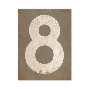 koenmeloen-huisnummer-bord-staand-type-1-grijs-wit