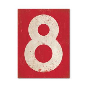 koenmeloen-huisnummer-bord-staand-type-1-rood-wit
