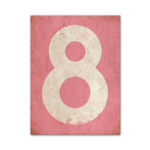 koenmeloen-huisnummer-bord-staand-type-1-roze-wit